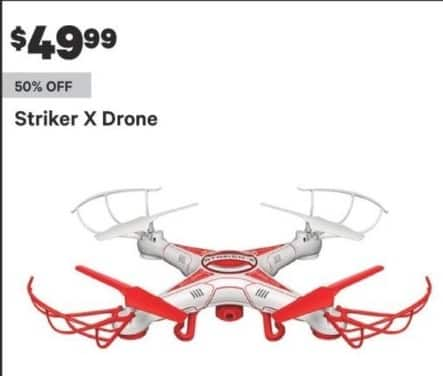 Groupon Black Friday: Striker X Drone for $49.99