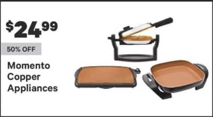 Groupon Black Friday: Momento Copper Appliances for $24.99