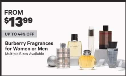 Groupon Black Friday: Burberry Fragances for Women or Men - From $13.99
