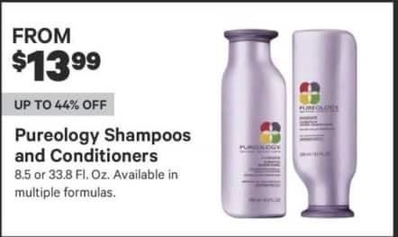 Groupon Black Friday: Pureology Shampoos and Conditioners, 8.5 or 33.8 Fl. Oz, Multiple Formulas - From $13.99