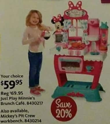 AAFES Cyber Monday: Just Play Minnie's Brunch Cafe for $59.95