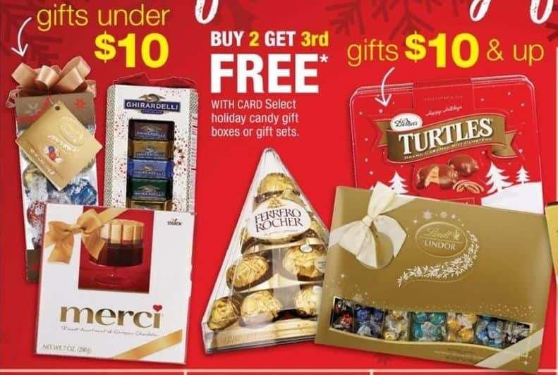 CVS Black Friday: Select Holiday Candy Gift Boxes or Gift Sets w/ Card - B2G1 Free