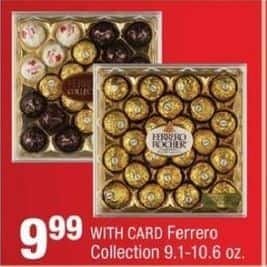 CVS Black Friday: Ferrerro Collection Candy, 9.1-10.6 Oz. w/ Card for $9.99