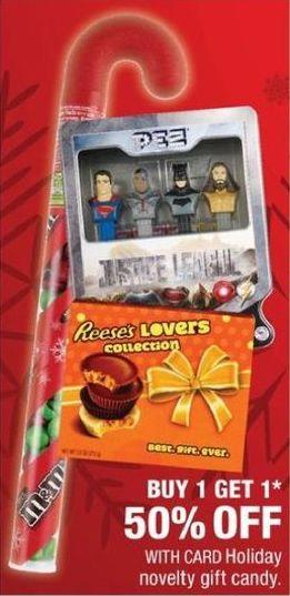 CVS Black Friday: Holiday Novelty Gift Candy w/ Card - B1G1 50% Off