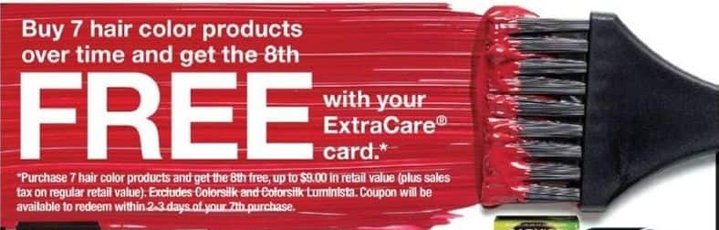 CVS Black Friday: (7) Hair Color Products - B7G1 Free