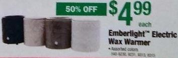 Menards Black Friday: Emberlight Electric Wax Warmer for $4.99