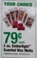 Menards Black Friday: Emberlight Scented Wax Melts, 2 Oz. for $0.79