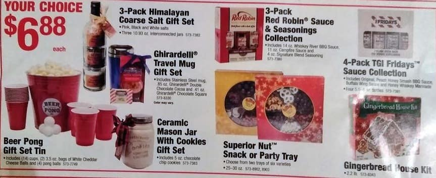 Menards Black Friday: TGI Fridays Sauce Collection, 4-Pack for $6.88