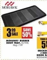 Blains Farm Fleet Black Friday: Mohawk Rubber Boot Tray for $3.99