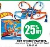 Blains Farm Fleet Black Friday: Hot Wheels Playsets - 25% Off