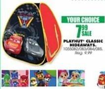 Blains Farm Fleet Black Friday: Playhut Classic Hideaways for $7.99