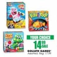 Blains Farm Fleet Black Friday: Goliath Games for $14.99