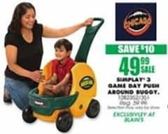 Blains Farm Fleet Black Friday: Chicago Simplay 3 Game Day Push Around Buggy for $49.99