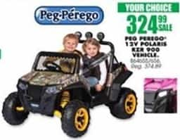 Blains Farm Fleet Black Friday: Peg Perego 12V Polaris RZR 900 Vehicle for $324.99