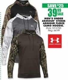 Blains Farm Fleet Black Friday: Under Armour Men's Storm Armour Fleece Camo Hoodie for $39.99
