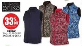 Blains Farm Fleet Black Friday: Erika Women's Apparel for $22.10 - $26.12