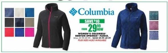Blains Farm Fleet Black Friday: Columbia Women's Benton Springs Fleece for $29.99