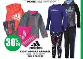 Blains Farm Fleet Black Friday: Adidas Kids' Apparel - 30% Off