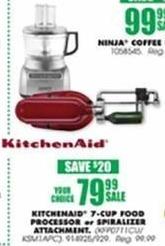 Blains Farm Fleet Black Friday: Kitchenaid 7-Cup KFP0711CU Food Processor for $79.99