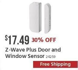 Monoprice Black Friday: Z-Wave Plus Door and Window Sensor for $17.49