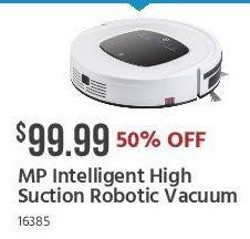 Monoprice Black Friday: MP Intelligent High Suction Robotic Vacuum for $99.99