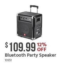 Monoprice Black Friday: Bluetooth Party Speaker for $109.99