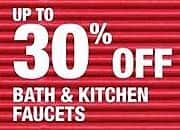 Home Depot Black Friday: Bath & Kitchen Faucets - Up to 30% Off