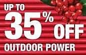 Home Depot Black Friday: Outdoor Power - Up to 35% Off