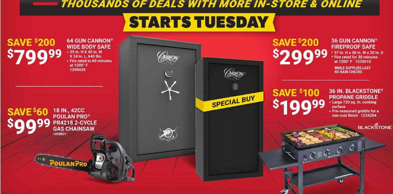 """Tractor Supply Co Black Friday: Blackstone 36"""" Propane Griddle for $199.99"""