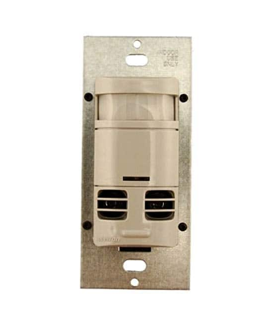 Leviton Dual-Relay Multi-Technology Wall Switch Motion, Gray $13.46