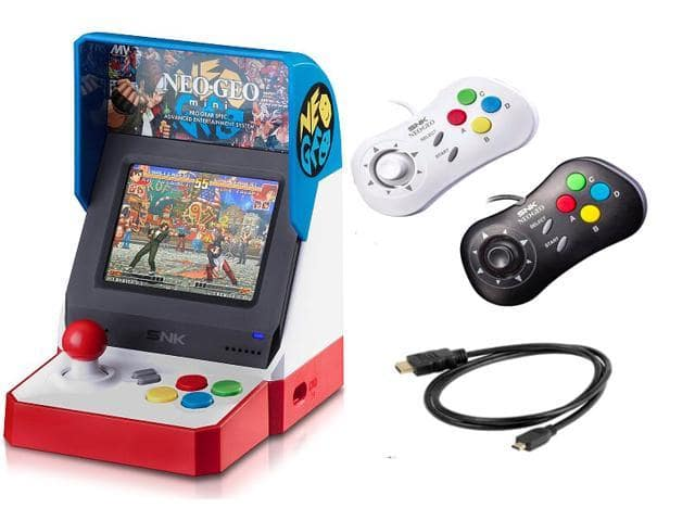 Neogeo Mini Pro Player Pack USA Version - $69.99 - Free shipping for Prime members - $69.99 at Woot
