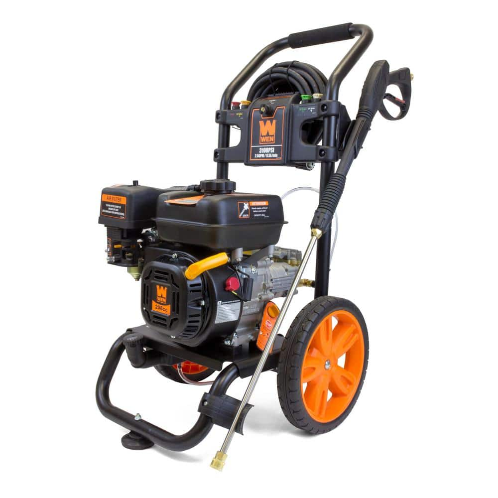 WEN Gas-Powered 3100 psi 208 cc 2.5 GPM Pressure Washer, CARB Compliant $269