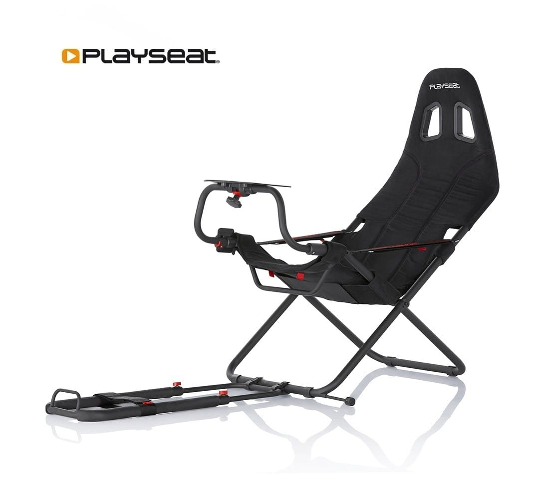 Playseat Challenge racing cockpit for Logitech G29, Thrustmaster T300RS T500RS Gran Turismo wheels compatible $216 SHIPPED!
