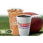 NY Giants or NY Jets win, all DD Perks members can score a medium Hot or Iced Coffee for 25¢ (NYC ONLY!!!)