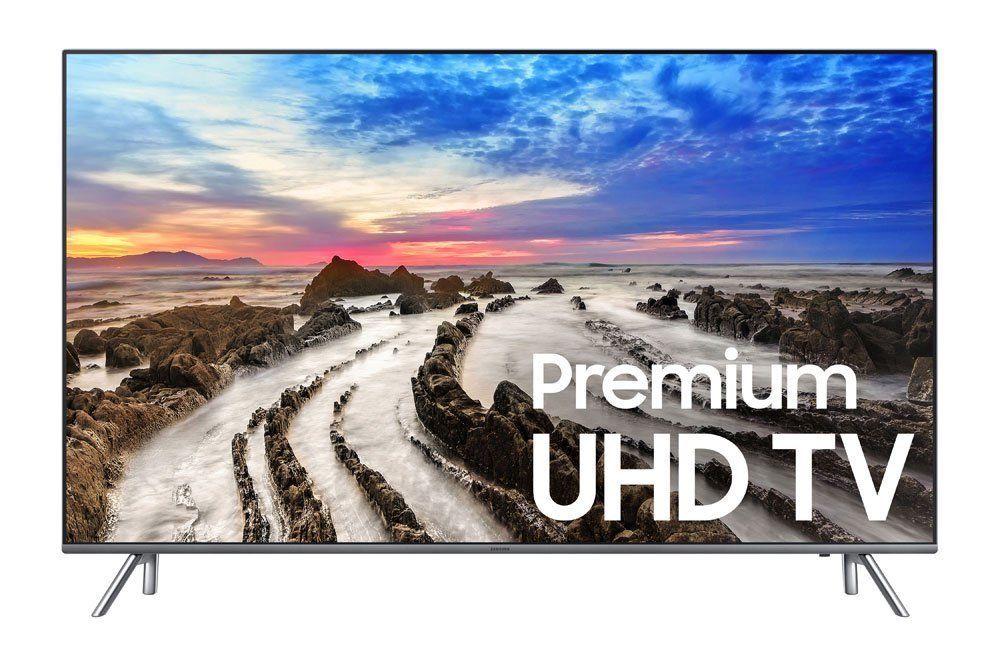 Samsung UN55MU8000 55-Inch 4K Ultra HD Smart LED TV (2017 Model) New, Factory Sealed - 1YR Labor & Parts Warranty by MFG $789