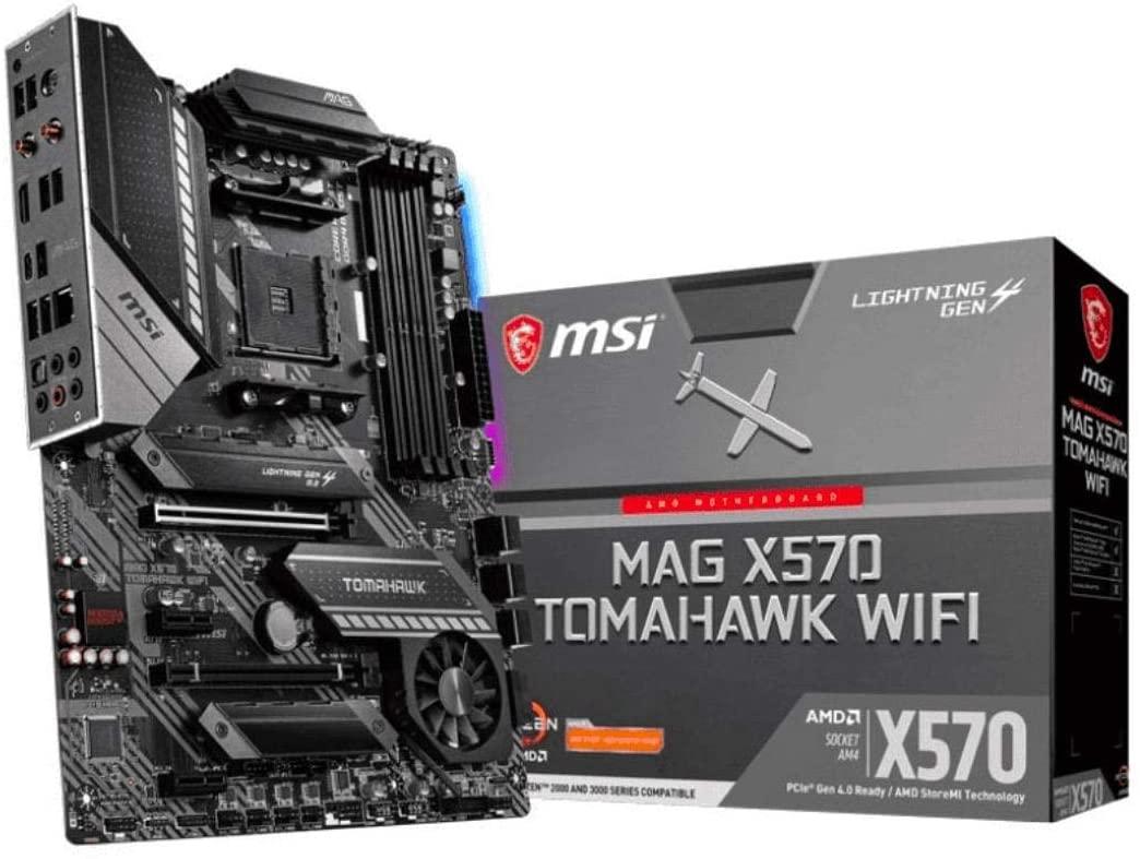 MSI MAG X570 TOMAHAWK WIFI Motherboard $219.99 Free Shipping - Amazon.com