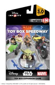 Disney Infinity 3.0 Toy Box & Speedway Expansion 9.99 each + ship or add both plus filler over 25 for free ship