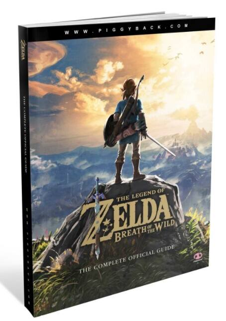Legends of Zelda Breath of the Wild Strategy Guide Paperback - Amazon 16.99 $16.99
