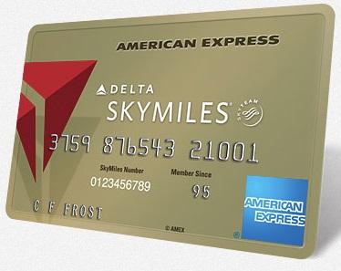 Gold Delta SkyMiles American Express 50K Bonus Offer