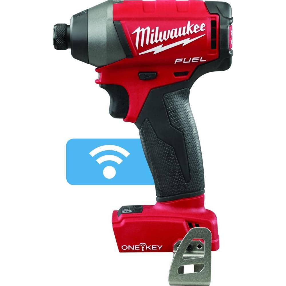 Milwaukee M18 FUEL ONE-KEY 1/4 in. Hex Impact Driver (Tool-Only) $90 shipped or Hammer Drill $50 (Tool-Only) shipped