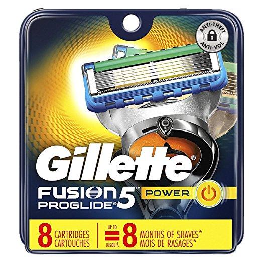 $7.00 OFF Gillette Fusion5 ProGlide Men's Razor Blade Refills, 8 Count. Expires 11/28/2017 $22.97