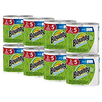 16-Count Bounty Quick-Size Family Roll Paper Towels $25.14 @ Amazon