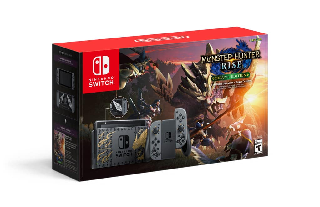 Nintendo Switch Monster Hunter Rise Deluxe Edition | Nintendo Switch | GameStop - $369.99