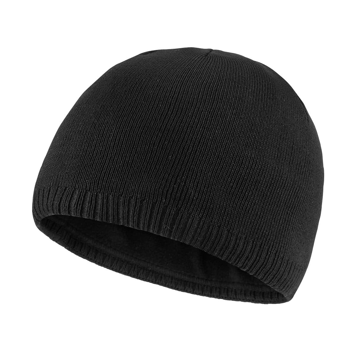 Fleece-lined, Warm Winter Knit Beanie (Various Color)  Free Shipping w/Prime @Amazon - $8.32