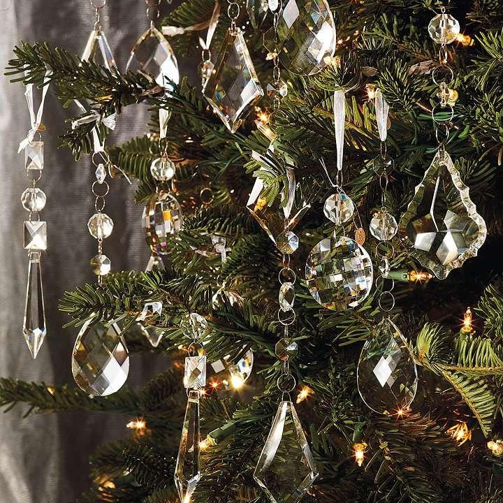 30 pcs Crystal Garland, Christmas Ornament, DIY Jewelry @Amazon - $6.49 - 30 Pcs Crystal Garland, Christmas Ornament, DIY Jewelry @Amazon