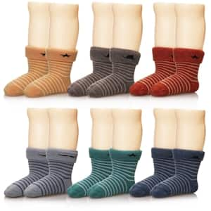 6 Pairs Children's Wool Socks, Amazon.com - $6.99