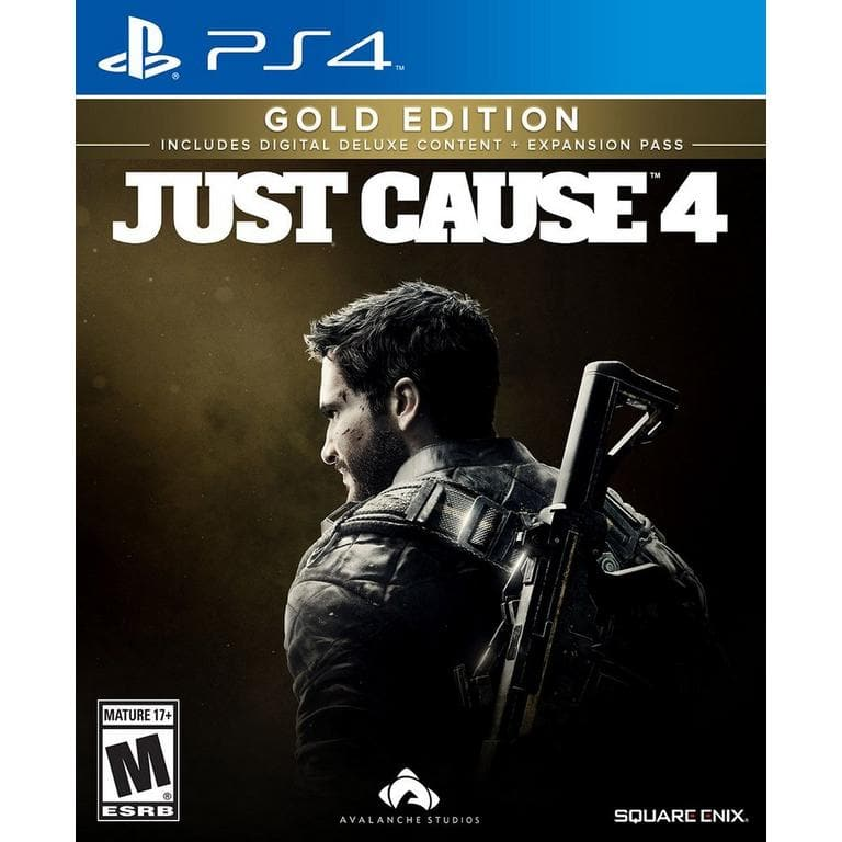 Just Cause 4 Gold Edition PS4 @ XBOX1 Gamestop $19.99