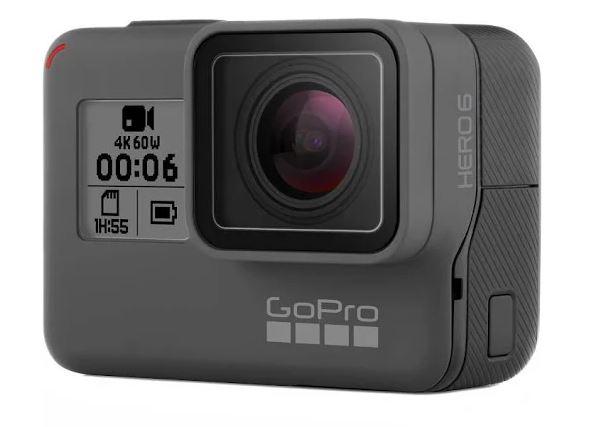 GoPro HERO6 Black Ultra HD Action Camera - 4K using google express 25% off NO TAX $299.99