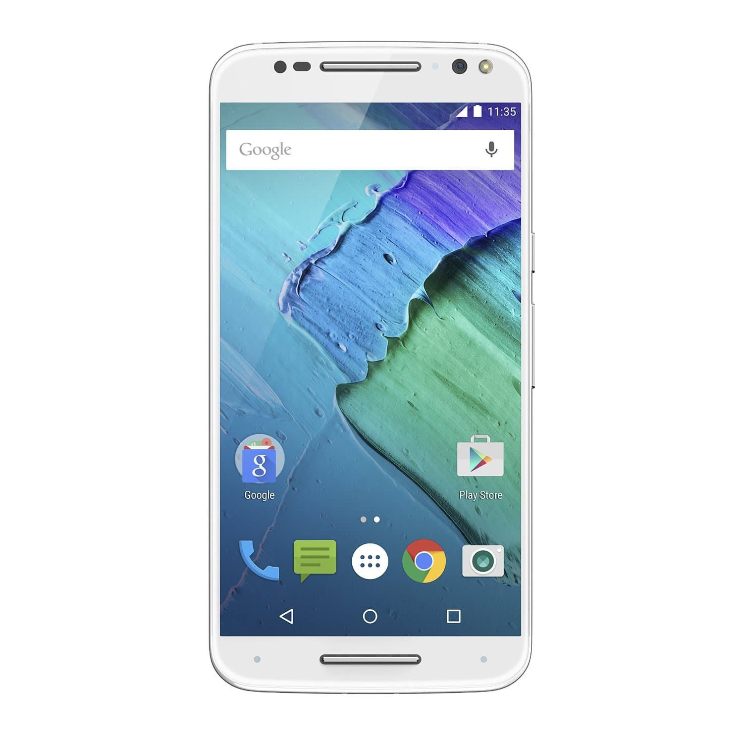 Moto X Pure Edition - White and Bamboo - 16GB (as low as $145) - 32GB (as low as $171) - Amazon Warehouse