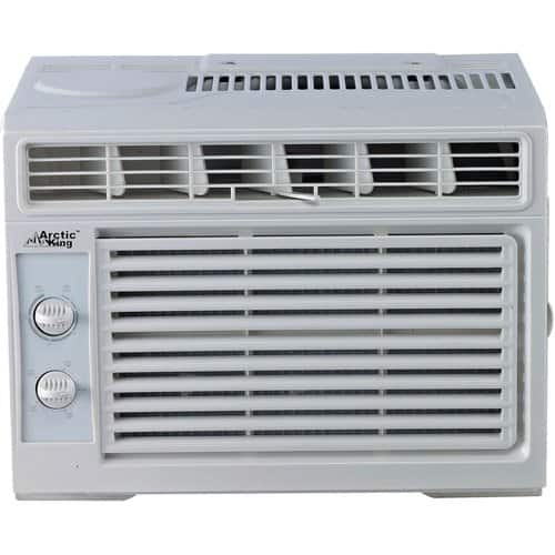 Arctic King and G.E. 5000 btu window air conditioner for $50, regular price $139 YMMV